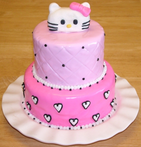Monkey Birthday Cake on Girly Birthday Cakes On Like Teamwork A Super Girly Cake For Her 2