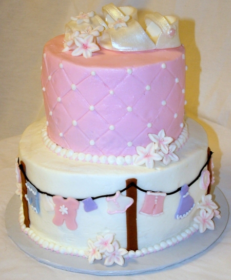 A Sweet Cake Blog Archive Ellen S Baby Shower