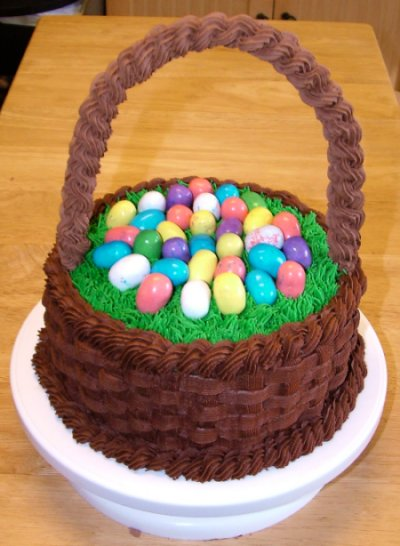 A sweet cake blog archive easter basket cake negle Gallery